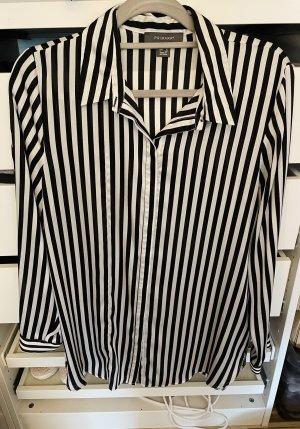 Primark Bluzka z długim rękawem czarny-biały