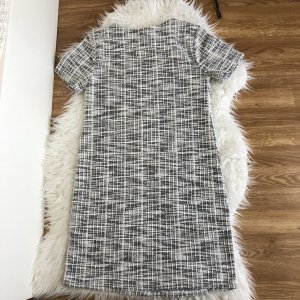 Primark Atmosphere elegantes Kleid, Bouclé, feminin und edel, 36 S 34 Etuikleid kariert Herbst Neu