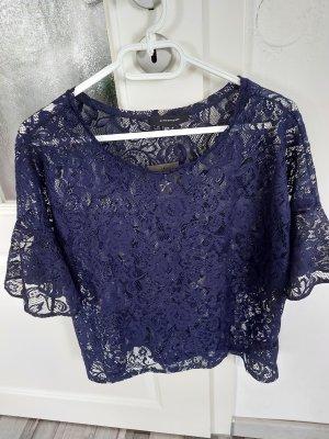 Primark Blusa in merletto blu scuro