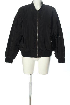 Primark Bomber Jacket black casual look