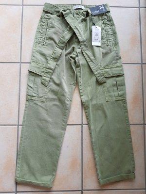 Denim Co. Cargo Pants olive green