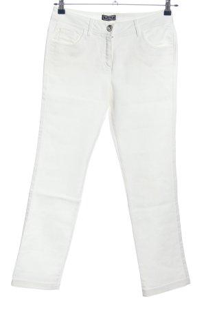 Primark Corduroy broek wit casual uitstraling