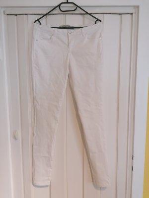 Primark Damen Strecht Jeans Weiß Gr. 42