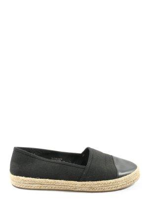 Primark Espadrille sandalen zwart casual uitstraling
