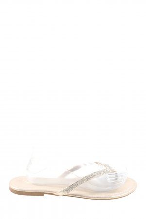 Primark Flip-Flop Sandals natural white casual look