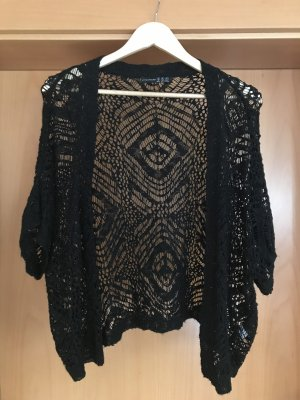 Atmosphere Cardigan en crochet noir