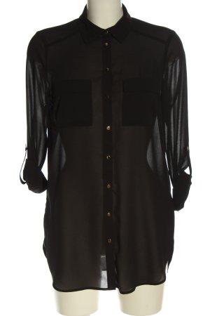 Primark Blusa-camisa negro look casual