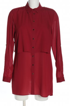 Primark Hemd-Bluse rot Casual-Look
