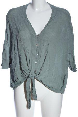 Primark Hemd-Bluse blau Casual-Look