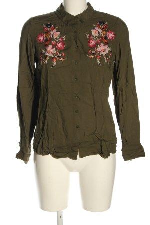 Primark Hemd-Bluse Blumenmuster Casual-Look