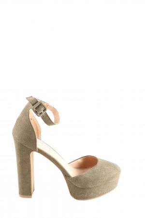 Primark High Heels braun Elegant