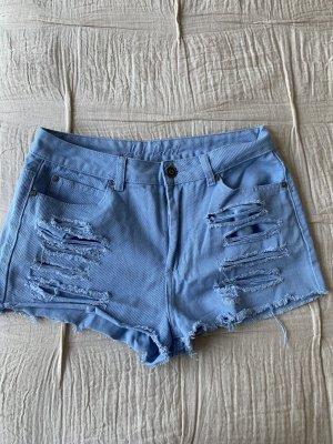 Primark Hotpants 36/38 Shorts hellblau