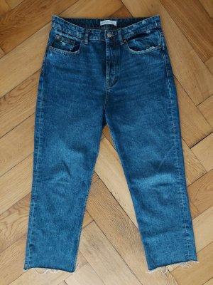Primark Jeans carotte bleu-bleu acier coton