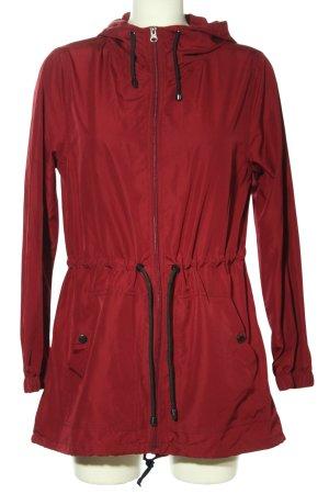 Primark Giacca con cappuccio rosso stile casual