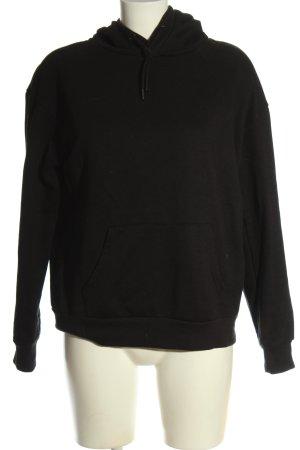 Primark Kapuzensweatshirt schwarz meliert Casual-Look