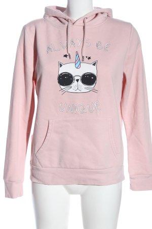 Primark Kapuzensweatshirt Motivdruck Casual-Look