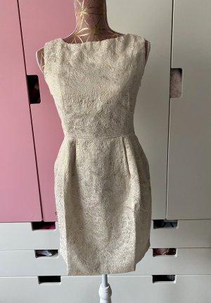 Primark Kleid creme gold Größe S