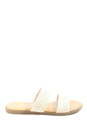 Primark Riemchen-Sandalen creme Casual-Look