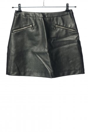 Primark Faux Leather Skirt black casual look