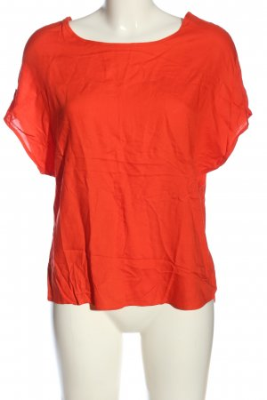 Primark Kurzarm-Bluse rot Casual-Look