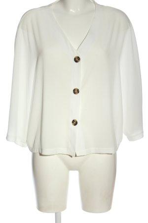 Primark Camicetta a maniche corte bianco stile professionale