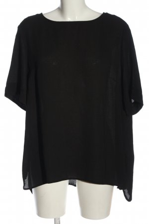 Primark Kurzarm-Bluse schwarz Casual-Look