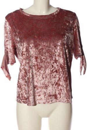 Primark Kurzarm-Bluse pink Casual-Look