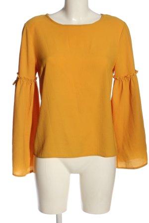 Primark Camicetta a maniche lunghe giallo pallido elegante