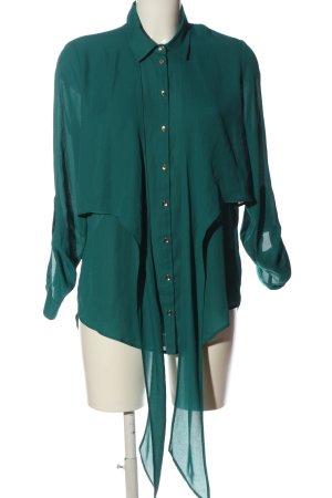Primark Langarmhemd grün Business-Look