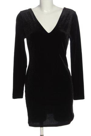 Primark Langarmkleid schwarz Elegant