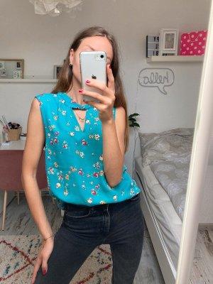 Primark lockeres Sommershirt mit floralen Print XL/42