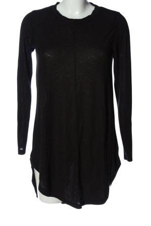 Primark Long-Bluse schwarz schlichter Stil