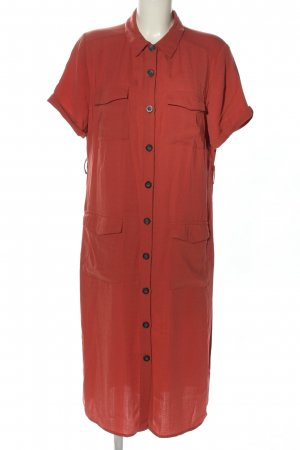 Primark Gabardina tipo vestido rojo look casual