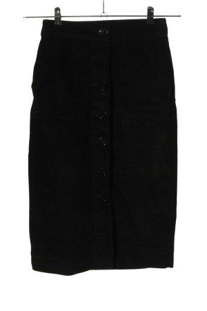 Primark Spódnica midi czarny W stylu casual