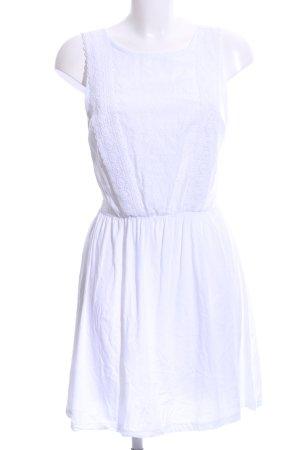 Primark Minikleid weiß Casual-Look