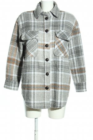 Primark Oversized Jacke Allover-Druck Casual-Look