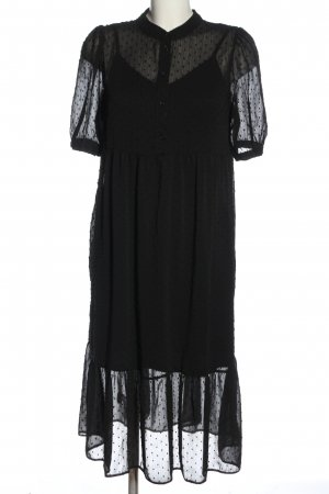 Primark Petticoat Dress black spot pattern casual look