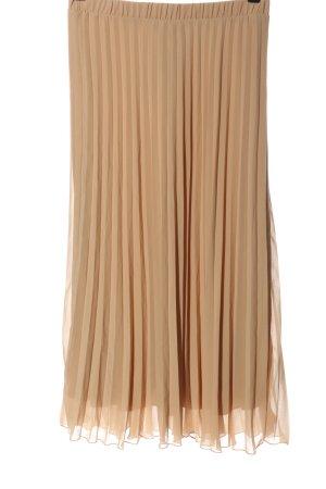 Primark Pleated Skirt cream elegant