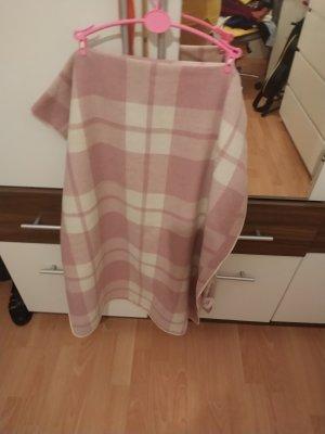 Primark Poncho bianco-rosa antico