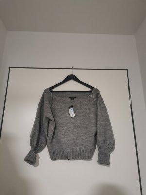 Primark Pull en laine gris clair