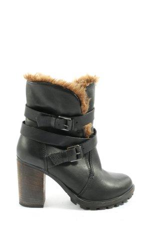 Primark Reißverschluss-Stiefeletten schwarz Casual-Look