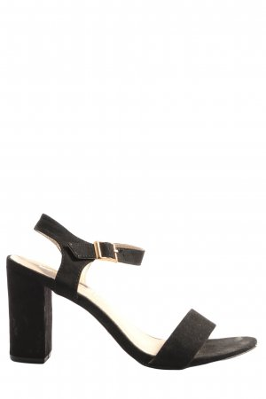 Primark Riemchen-Sandalen schwarz Casual-Look