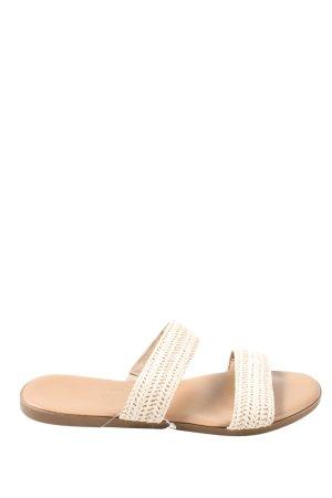 Primark Riemchen-Sandalen wollweiß Casual-Look