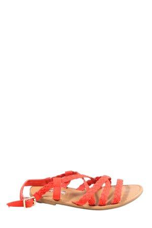 Primark Riemchen-Sandalen rot Casual-Look