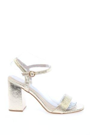 Primark Riemchen-Sandaletten silberfarben Casual-Look
