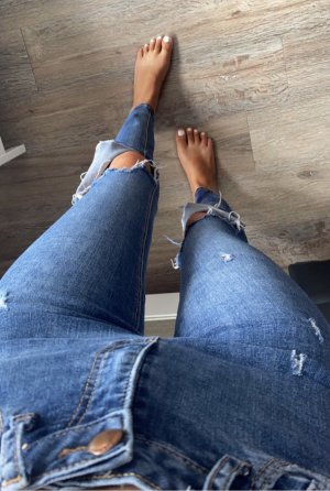 Primark RIPPED HIGH WAIST JEANS   34