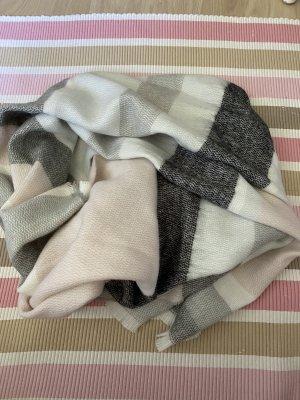 Primark Bufanda de lana rosa-blanco