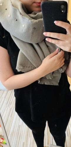 Primark Knitted Scarf light grey