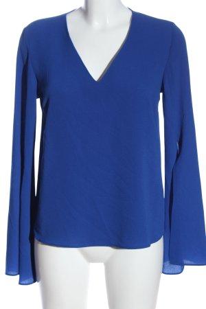 Primark Schlupf-Bluse blau Elegant