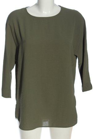 Primark Schlupf-Bluse khaki Business-Look